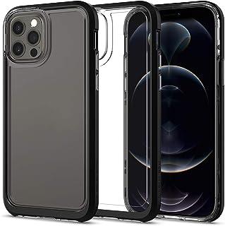 Spigen iPhone12 ケース iPhone12Pro ケース 6.1インチ MagSafe 対応 新型 背面クリア TPU ソフトケース PCハード バンパー 二重構造 米軍MIL規格 衝撃吸収 ワイヤレス充電 アイフォン12 ケース...