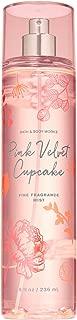 Bath and Body Works PINK VELVET CUPCAKE Fine Fragrance Mist 8 Fluid Ounce (2019 Limited Edition)