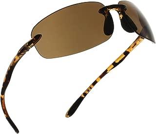 Fiore Island Sol Polarized and Non-Polarized Sunglasses Rimless TR90 for Men and Women