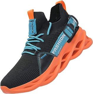 AARDIMI Herren Laufschuhe Fitness straßenlaufschuhe Sneaker Sportschuhe atmungsaktiv Anti-Rutsche Gym Fitness Schuhe