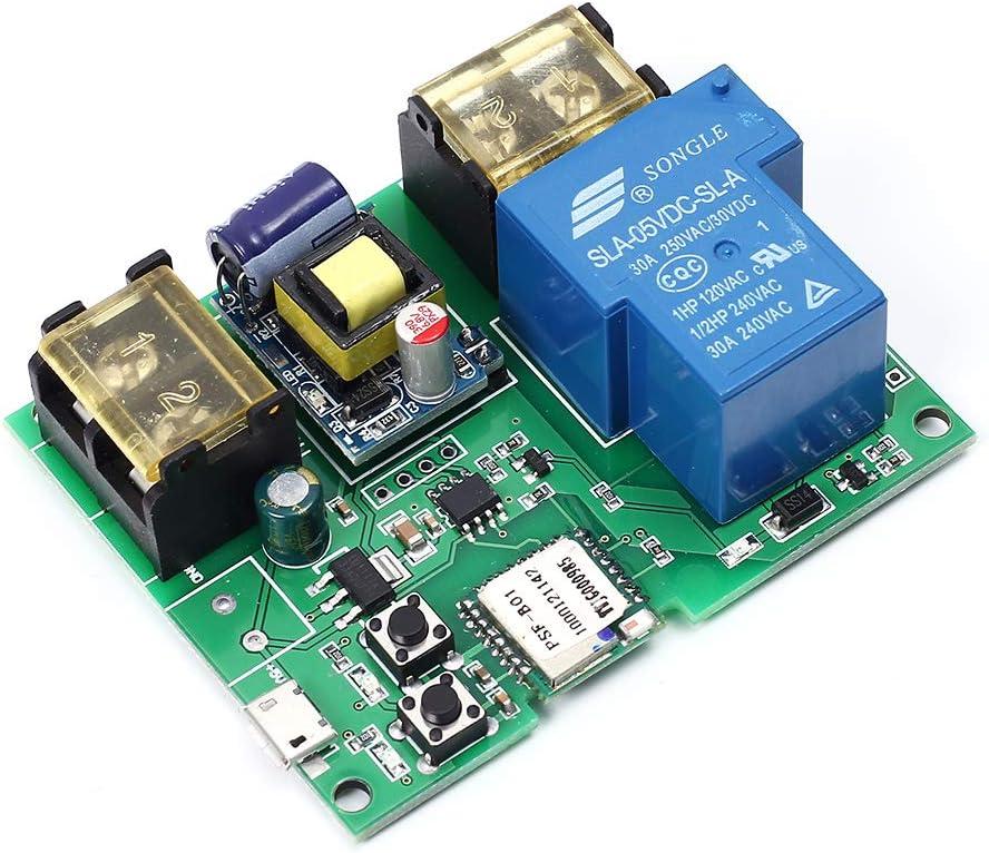 Time sale WIFI Remote Relay Module 220V Very popular 30A Wireless Switch M 6000W