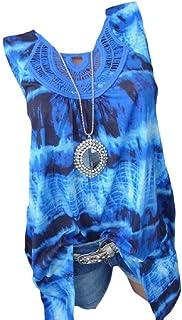 HEFASDM Womens T-Shirt Tunic Casual Loose Swing Oversized Blouse Top