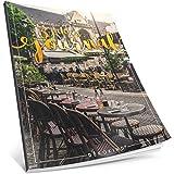 Dékokind® 3 Jahres Journal: Ca. A4-Format, 190+ Seiten, Vintage Softcover • Dicker Jahreskalender, Tagebuch für Erwachsene, Kalenderbuch • ArtNr. 42 Café • Ideal als Geschenk