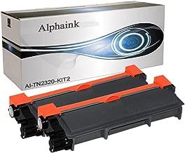 Alphaink AI-KIT2-TN2320 Kit 2 Toner compatibili per Brother HL L2300D HL L2340DW HL L2360DN HL L2365DW DCP L2500D DCP L2520DW DCP L2540DN DCP L2560DW MFC L2700DW MFC L2740DW MFC L2720DW MFC L2740