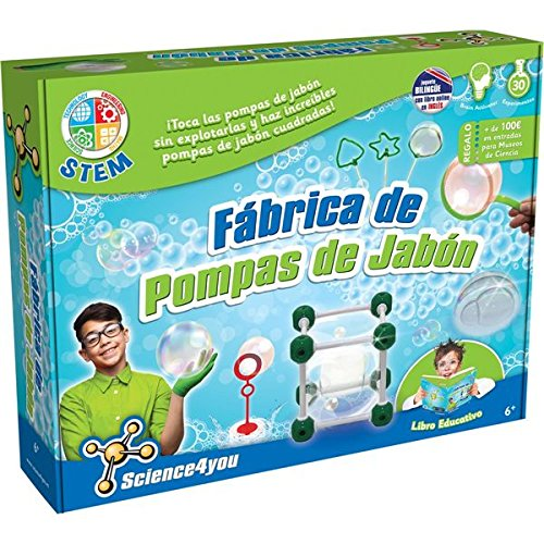 Science4you-Fábrica de pompas de jabón, Multicolor (604360)