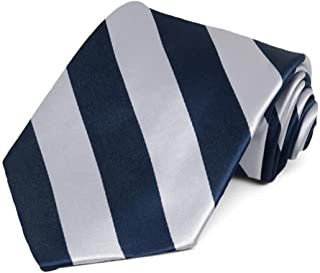 TieMart Men's Striped Tie Regular Length