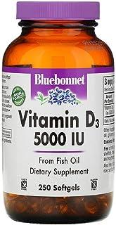 Bluebonnet Nutrition Vitamin D3 5000 IU - 250 Softgels