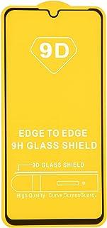 شاشة حماية زجاجية بإطار اسود لموبايل اوبو ريلمي C2 من دراجون - اسود