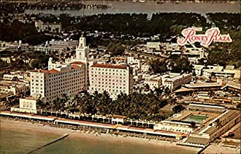 Roney Plaza Miami Beach, Florida Original Vintage Postcard