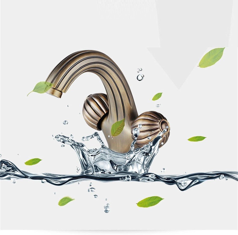 AQMMi Wasserhahn Bad Waschtischarmatur Antike Retro Waschbeckenarmatur Für Badezimmer Waschbecken