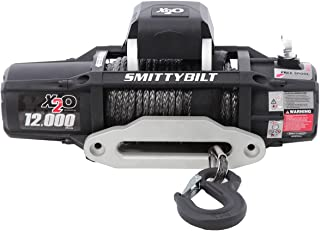 Smittybilt (98512) X2O Waterproof Synthetic Rope Winch - 12000 lb. Load Capacity