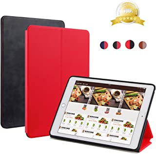 HDD iPad Flip Cover Double-Sided iPad Leather Case with Automatic Sleep/Wake Function, Multi-Angle Bracket Smart Leather Case for iPad Mini 1/2/3/4/5