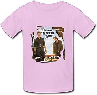 T Shirt for Big Youth' Boys' Girls' FGL Florida Georgia Line Heres to The Good Times