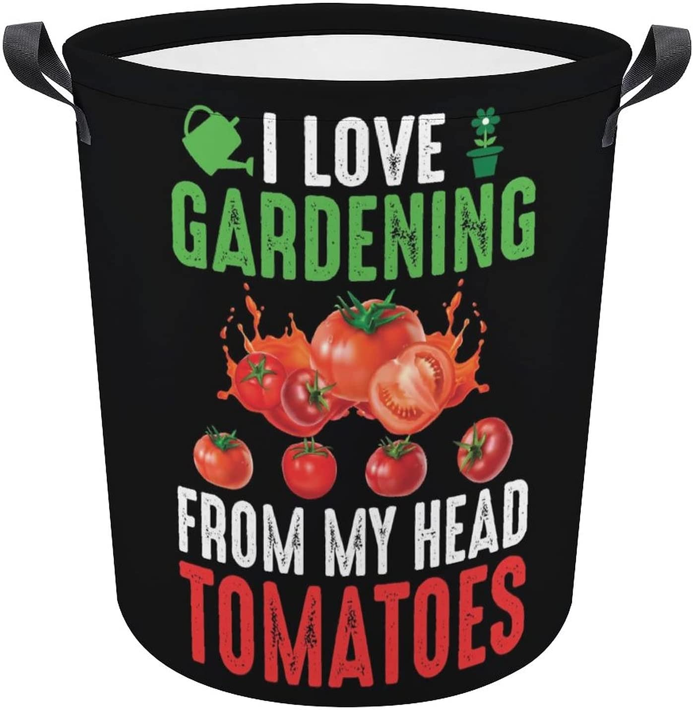 Funny Gardening Lovers High quality new Easy-to-use Quote Cartoon Hamper Oxford Laundry Gift
