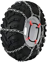 Grizzlar GTU-407 Garden Tractor 4 Link Ladder Alloy Tire Chains Tensioner Included 18x8.50-10 18x8.50-8 18x8x12.125 18x9.50-8 9x9.50-8