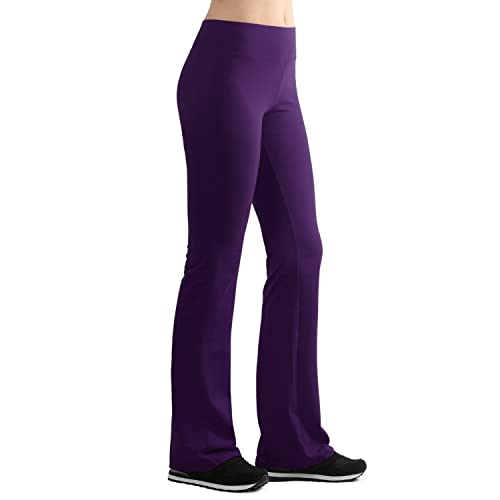 stylish design soft and light designer fashion Purple Yoga Pants: Amazon.com