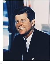 John F. Kennedy, White House Color Photo Portrait Art Print, 16 x 20 inches