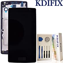 KDIFIX for LG Spirit H442 H440 H420 C70 LCD Touch Screen Assembly + Frame with Full Professional Repair Tools kit (Black+Frame)