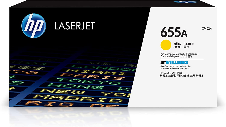 HP 655A   CF452A   Toner-Cartridge   Yellow