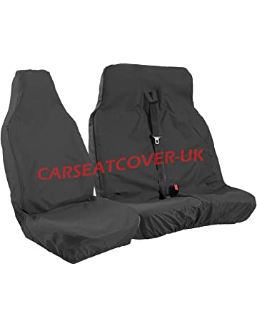 S- tech automotive Panda 12-ON Seat Covers//Protectors 1+1   Water Resistant Front Grey Heavy Duty