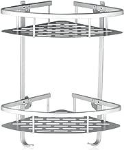 Lancher Bathroom Shelf (No Drilling) Durable Aluminum 2 Tiers Shower Shelf Kitchen..