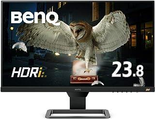 BenQ 23.8型アイケアモニター EW2480(IPS/フルHD/HDR/高音質スピーカー/5ms/FreeSync/フレームレス/ブルーライト軽減/輝度自動調整B.I.+/HDMI2.0x3)