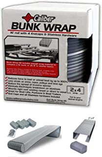 Caliber Products 23050-BK Bunk Wrap Kit - 16ft. x 2in. x 4in. - Black
