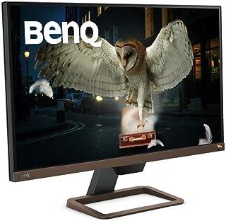 BenQ 27インチ 4K高画質&高音質モニター EW2780U(27インチ/4K/IPS/HDRi/sRGB99%カバー/treVolo高品質スピーカー/HDMI/DP/USB-C/60W給電)