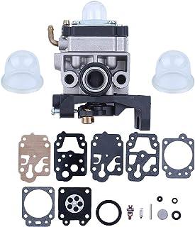 Haishine Carburetor Carb Primer Bombilla Kit de reconstrucción de diafragma para Honda GX35 HHB25 HHT35 HHH25 HHT35S Cortador de arbustos de 4 Tiempos