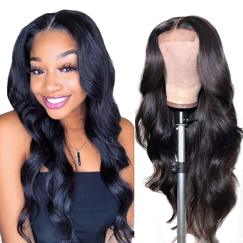 Body Wave Lace Same day shipping Front Wigs 4x4 OFFicial store Closure Hair Human