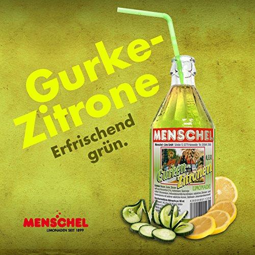 Menschel Gurken-Zitronen Limonade 0,5l