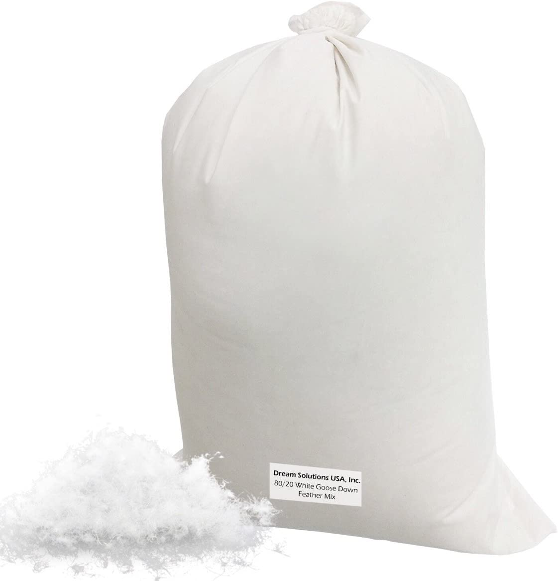 Bulk Goose Down Filling (5 lb.) – 80/20 100% Natural White