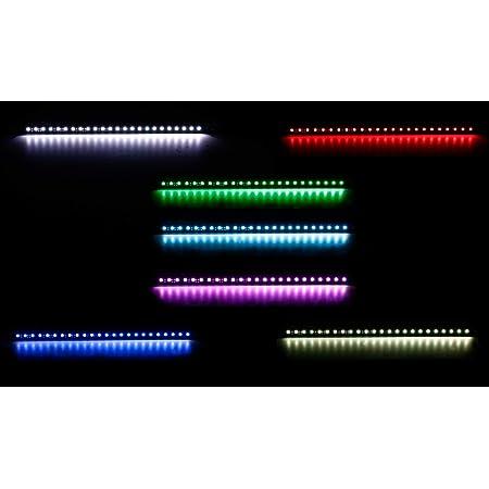 All Ride Kreuz Leuchte 24 Volt Mit 18 Leds Multi Color Für Die Lkw Fahrerkabine Trucker Innenaustattung Auto