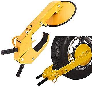 Oanon Wheel Lock Car Boot Clamp Tire Lock Adjustable Anti-Theft Wheel Lock Parking Boot Claw for Trailer Car, Truck, ATV, ...