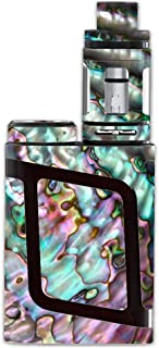 Skin Decal Vinyl Wrap for Smok AL85 Alien Baby Kit Vape Mod Skins Stickers Cover / Abalone Pink Green Purple Sea Shell