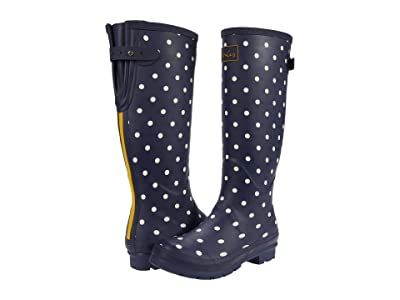 Joules Welly Print (French Navy Spot) Women