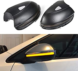 Side Door Wing Mirror With Turn Signal, Umiwe Side Wing Mirror Signal Lamp Dynamic Turn Signal Light Side Rear Mirror Indicator Fit For VW(Passat/EOS/Beetle/Scirocco/Jetta) - Sturdy Side Mirror