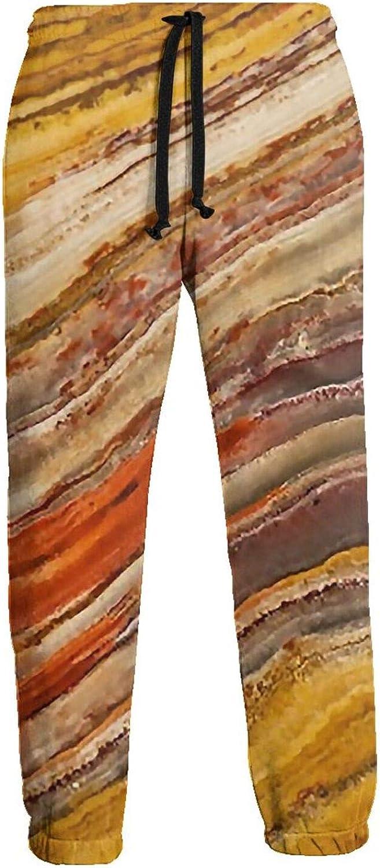 Men's Women's Sweatpants Vintage Marble Athletic Running Pants Workout Jogger Sports Pant