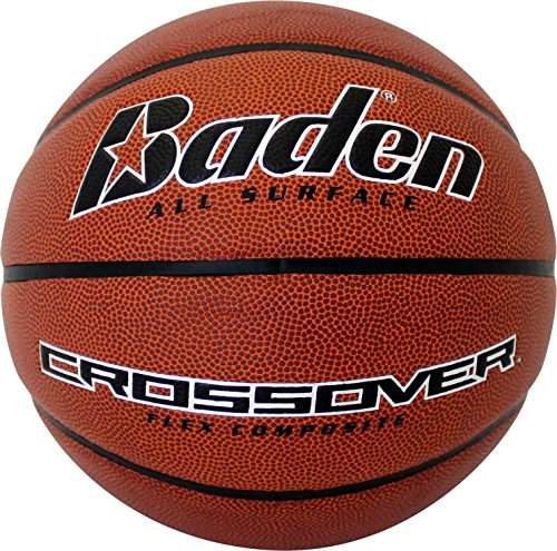 Baden Crossover Flex Composite Basketball, Brown, 29.5 inch