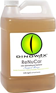 Dinowax ReNuCar | Odor-Eliminating Car & Camper Freshener | Newport Breeze (128 Oz)