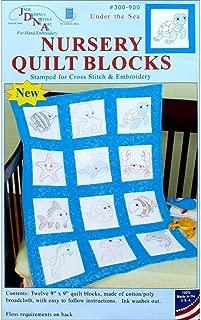 Jack Dempsey JDN300.900 Nursery Quilt Blocks Underthesea 12Pc Nursery Quilt Blocks underthesea