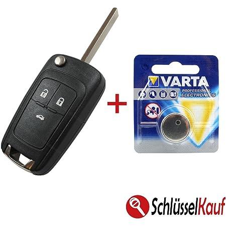 Konikon Autoschlüssel Gehäuse Mit Batterie Knopfzelle Elektronik