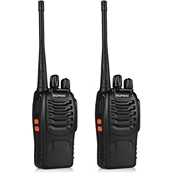 2X Baofeng BF-777S Rechargeable Two Way Radio UHF 400-470MHz Walkie Talkie