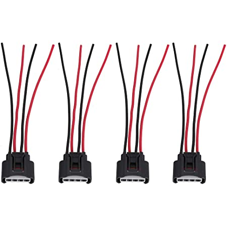 Aokus PACK OF 6 Ignition Coil Pack Connector Plug for Honda Accord Odyssey Pilot Ridgeline NEW