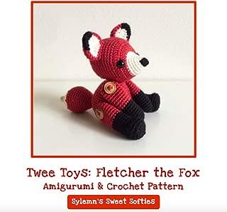 Fletcher the Fox - Amigurumi Crochet Stuffed Animal Toy Pattern and Tutorial (Twee Toys)