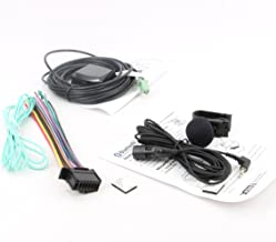 Xtenzi Connection Cable Set Compatible with Pioneer App Radio 4 SPH-DA120 GPS Mic Wire Harness 3 Pcs Set