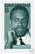 1999 33 Cent Malcolm X Black Heritage Series Stamp Scott 3273