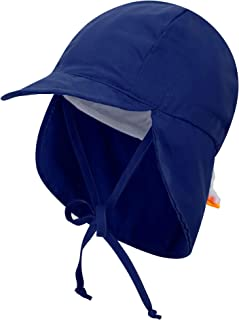 Livingston Kid's SPF 50+ UV Sun Ray Protective Safari Hat w/Neck Cover