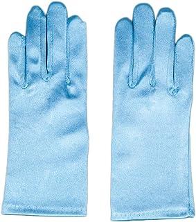 comprar comparacion Flora - guante de satén de chica para el traje de Elsa congelado