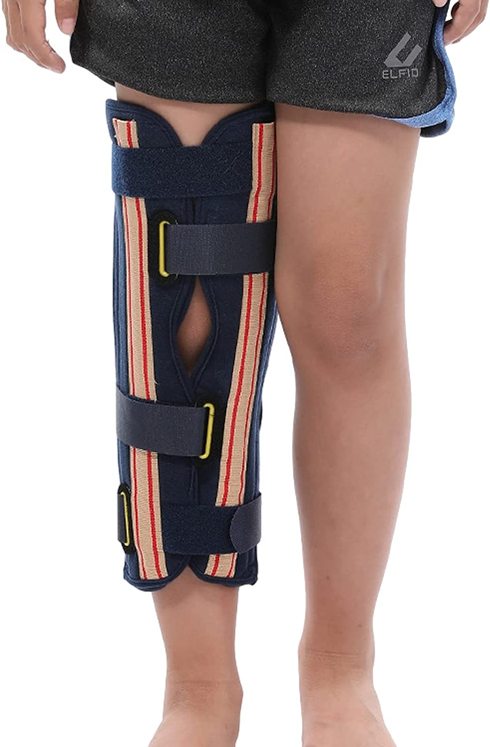 LKKHOSC Children's Knee Pads Adjustable New product! New type Composite Patella National products Open C